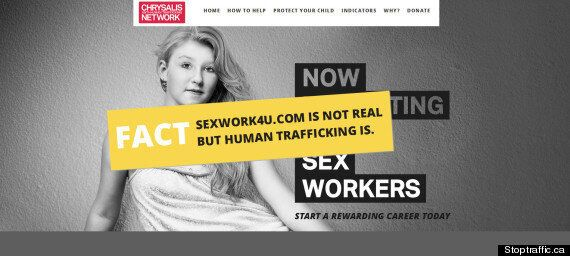 SexWork4U.com Edmonton Child Sex Worker Posters Met With Rage,