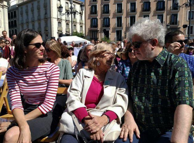 Pedro Almodóvar muestra su apoyo público a este