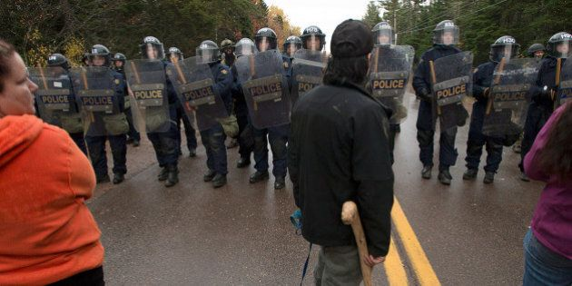 Rexton Protest Crackdown Sent Message To B.C.: