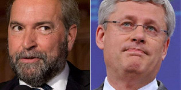 Mulcair Questions Timing Of PM's Trip To