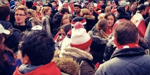 We Are Winter: What Canada Wore To Celebrate Olympic Hockey