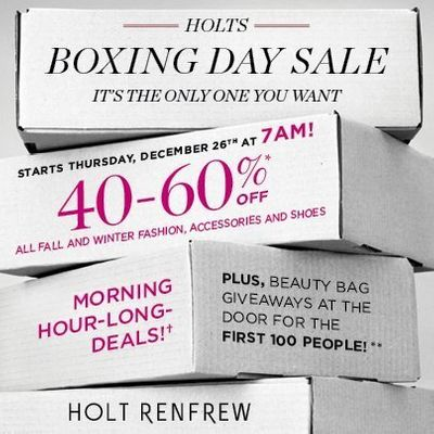 What Is Boxing Day And Why Do Canadians Celebrate It Huffpost Canada Life