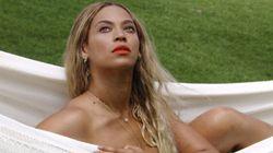Beyonce's Arty Topless
