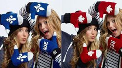 Photo Of Medalists In 'Team Quebec' Gear Posted By