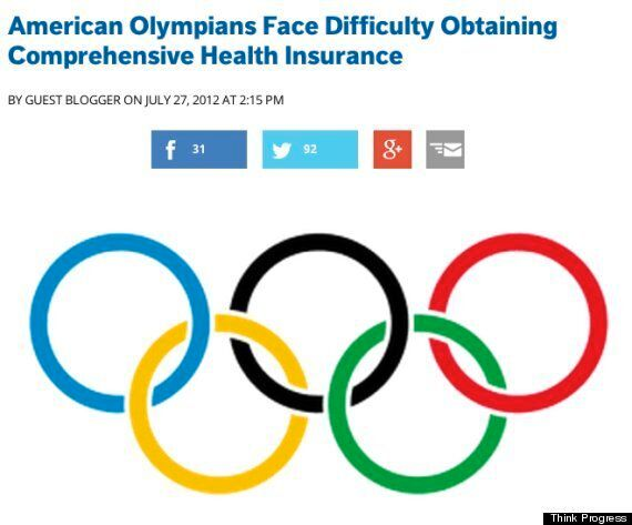 A Friendly Olympic Message To Our Neighbours In The United
