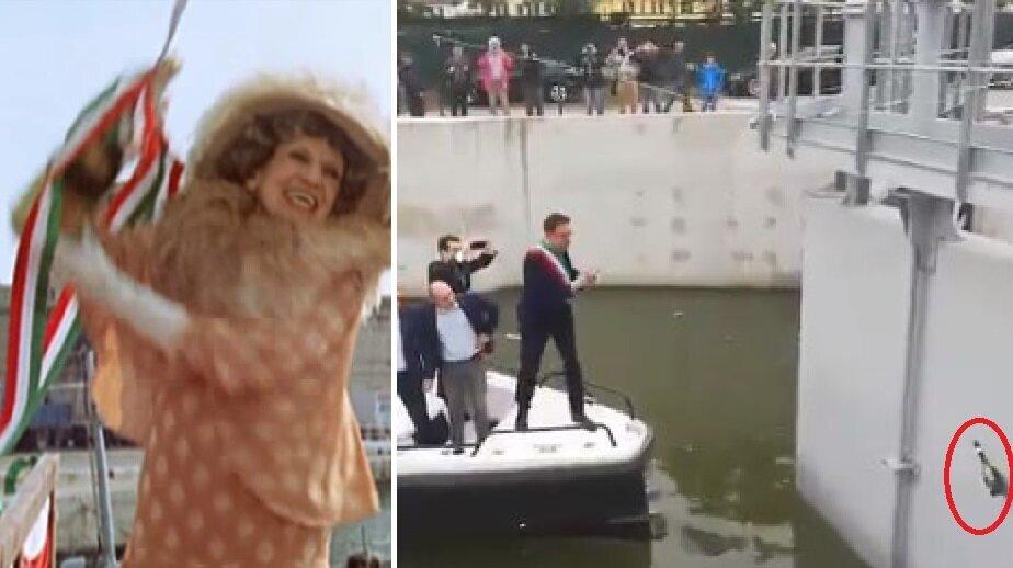 Il sindaco leghista di Pisa come la Contessa Serbelloni Mazzanti Viendalmare: il varo è