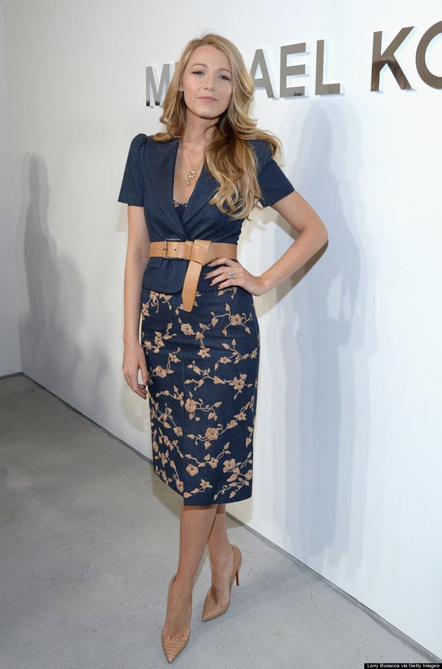 Blake Lively Gets Sultry At New York Fashion Week (VIDEO,