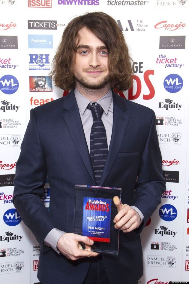Daniel Radcliffe Looks Barely Recognizable With Long Hair