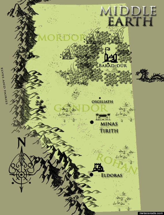 Alberta As Middle Earth And 'The Lord Of The Rings'