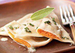 One Meal, Three Ways: Sweet Potato Ravioli With Sage Brown