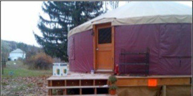 Yurt Living In Okanagan Requires