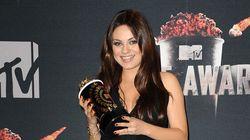 Mila Kunis Can't Hide Her Baby