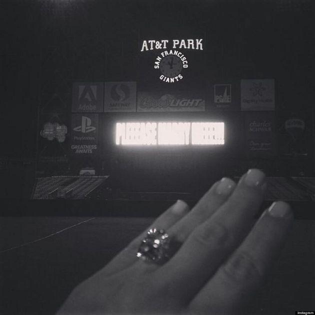 Kim Kardashian's Engagement Ring Makes Its