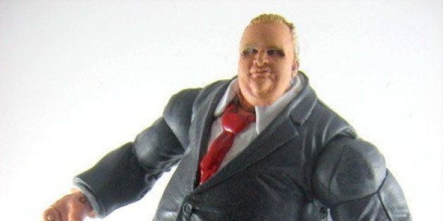 Rob Ford Action Figure Sold For $100 On eBay
