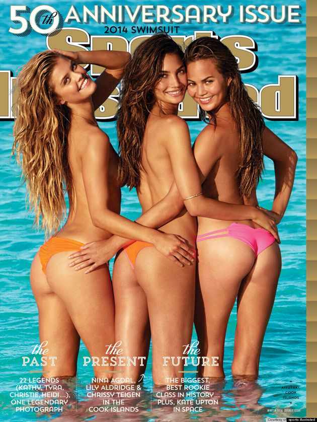Sports Illustrated Swimsuit Cover 2014 Features Chrissy Teigen, Lily Aldridge And Nina Agdal