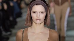 Kendall Jenner Makes High Fashion Debut Sans