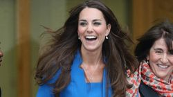 Only Kate Middleton Would Wear Blue On Valentine's