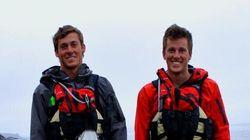 LOOK: B.C. Brothers' Crazy Kayak