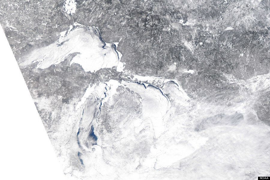 Frozen Great Lakes Photos Prove How Cold Winter Has
