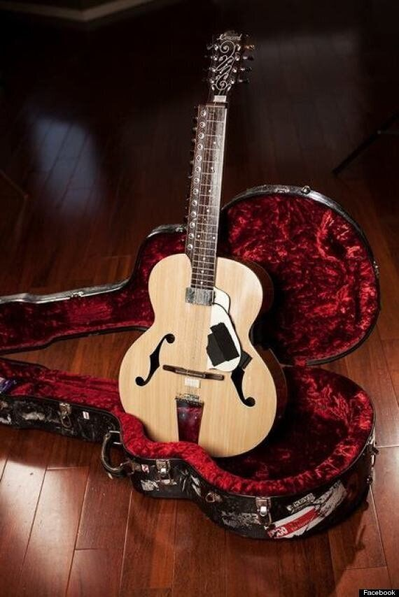 Harry Manx Guitar Recovered From Alleged Thief In