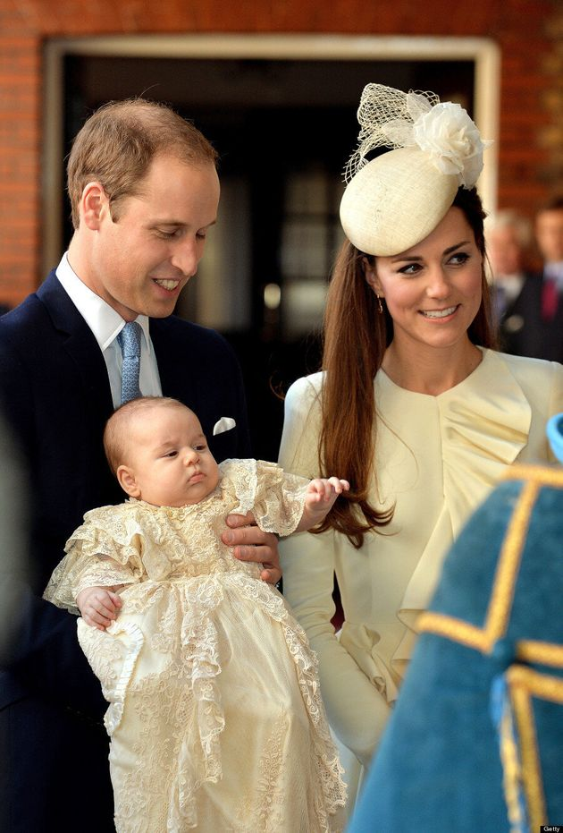 Duchess Of Cambridge's Prince George Christening Outfit Hasn't Been Seen Before