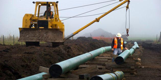Pipeline Human Bones: TransGas Halts Saskatchewan Pipeline Trench Dig After Finding
