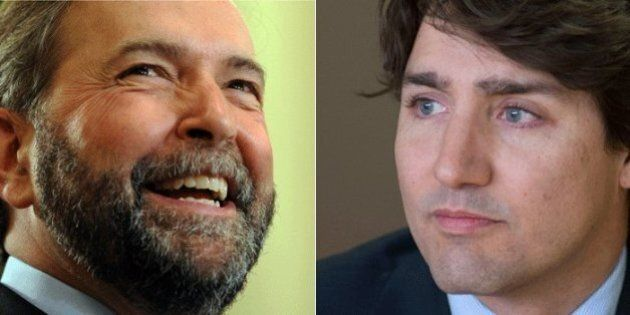 Thomas Mulcair Has Change Of Heart About Working With