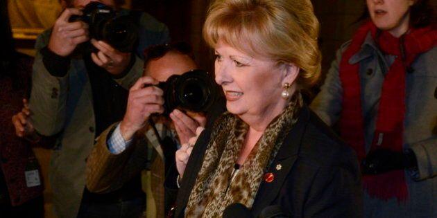 Pamela Wallin Senate Speech Transcript (FULL