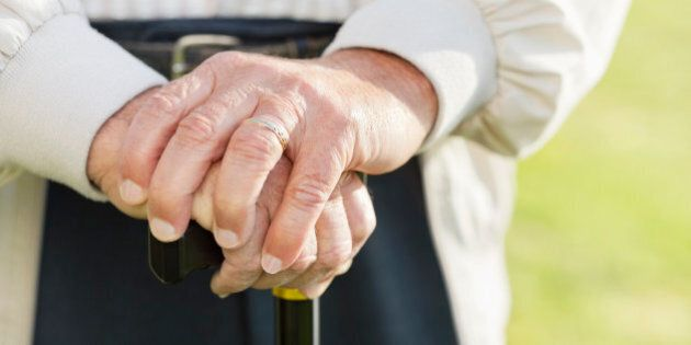 Cane To The Genitals Helps Seniors Foil