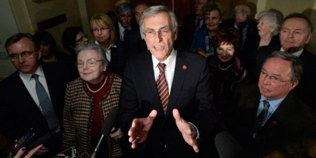 Booted Liberal Senators Aim To Use Independence To Institute