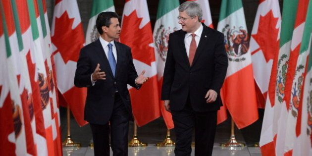 Stephen Harper Won't Drop Visa Rule For Mexicans, Source