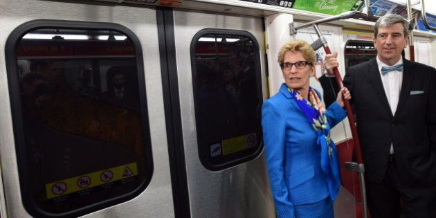 Kathleen Wynne Vows $29B Over 10 Years For Transit,