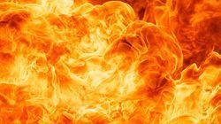 Man Dies In Burning Bus