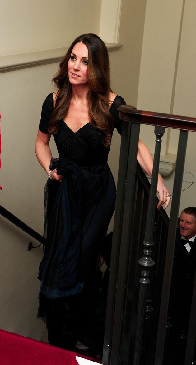 Kate Middleton Wears Jenny Packham At '100 Women In Hedge Funds' Gala