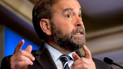Mulcair's Coalition Flip-Flop Is Bad for