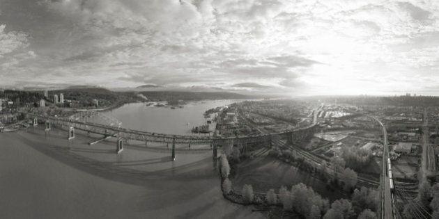 Eric Deis Panorama Shows Amazing View Of B.C.'s Lower Mainland