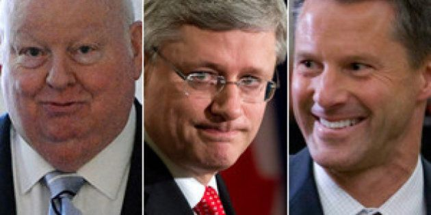 Stephen Harper Says 'Very Few People' Aware Of Duffy-Wright