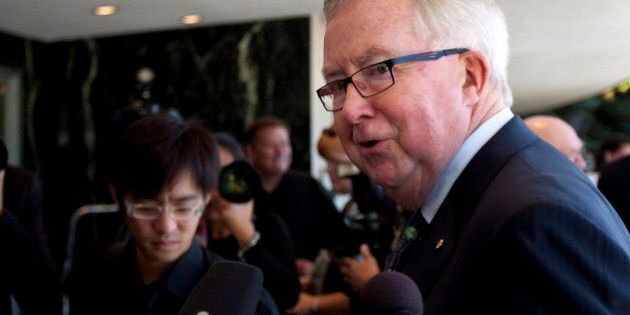 Joe Clark Frustrated With Harper Foreign Policy, Keystone