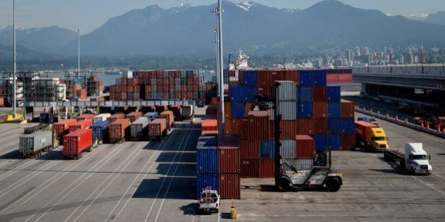 Canada Posts Trade Surplus In