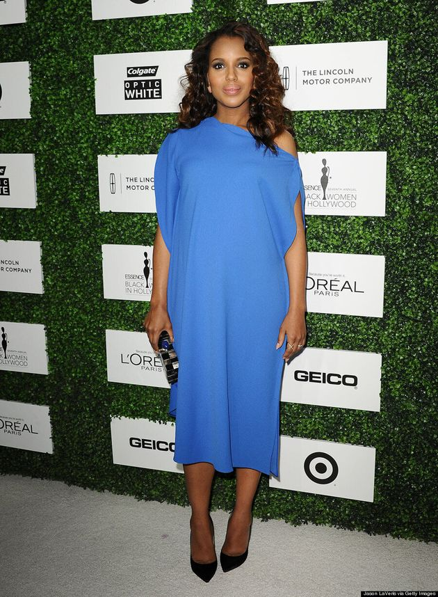 Kerry Washington's Maternity Style Keeps Getting Better