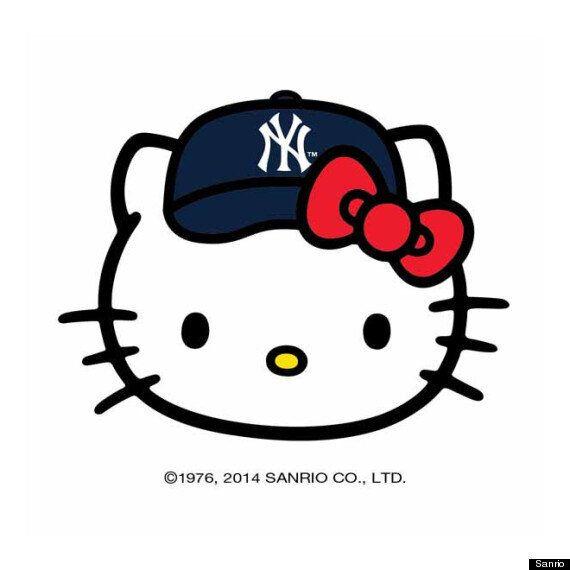 Hello Kitty MLB Partnership Makes Sure Women Have Cartoons On Their