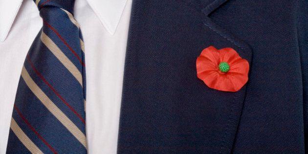Dollarama Remembrance Day Poppy Position
