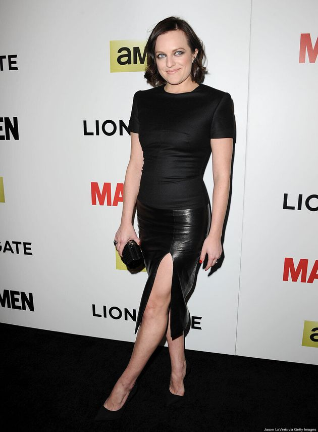 Elisabeth Moss' Smoky Eye Is The Hottest Makeup Look She's Ever
