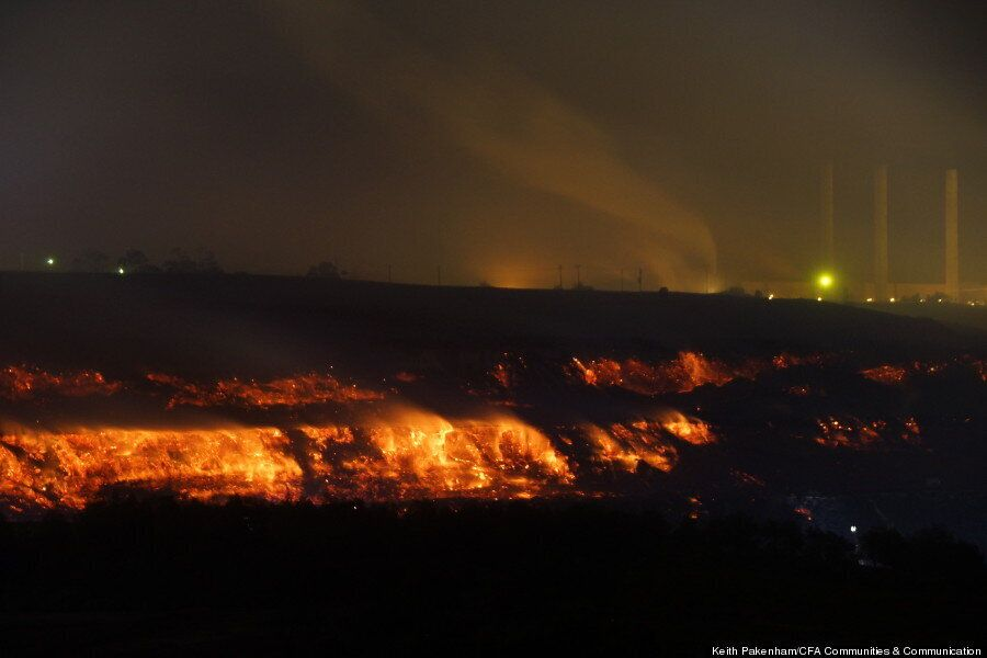 Coal Fire Turns Australian Mine Into Mordor's Mount