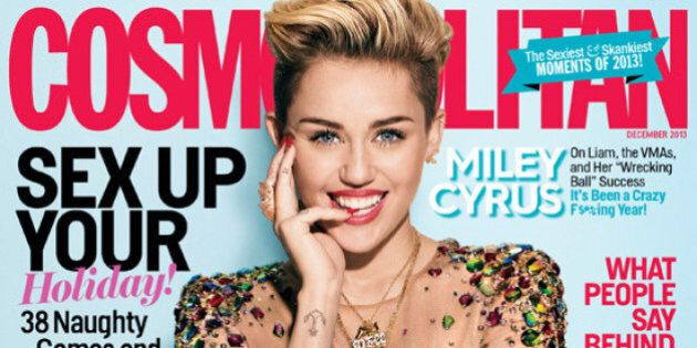 Miley Cyrus' New Cosmopolitan Cover Looks Familiar
