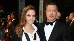 Brad And Angelina Wear Matching