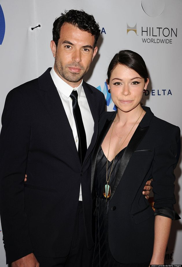 Tatiana Maslany Wears Chic Kate Moss For TopShop Jumpsuit At GLAAD Media Awards
