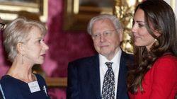 Kate Middleton Meets Helen