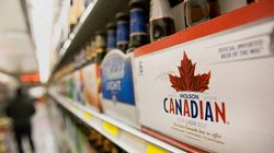 Booze In B.C. Grocery
