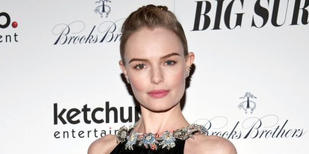 NEW YORK, NY - OCTOBER 28: Kate Bosworth attends the 'Big Sur' premiere at Sunshine Landmark on October...